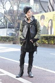 ファッションコーディネート原宿・表参道 2013年01月 nabescoさん