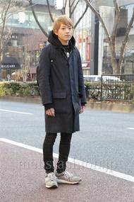 ファッションコーディネート原宿・表参道 2013年01月 辻 純平さん