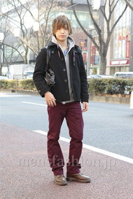 ファッションコーディネート原宿・表参道 2013年01月 高木眞之介さん