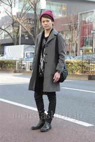 ファッションコーディネート原宿・表参道 2013年01月 石川健介さん