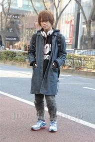 ファッションコーディネート原宿・表参道 2013年01月 夏川登志郎さん