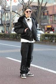 ファッションコーディネート原宿・表参道 2013年01月 松尾芳晴さん