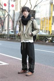 ファッションコーディネート原宿・表参道 2013年01月 松金祐大さん