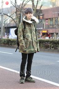 ファッションコーディネート原宿・表参道 2013年01月 齊藤章平さん