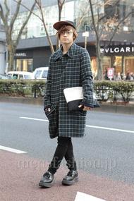 ファッションコーディネート原宿・表参道 2013年01月 石井俊伍さん