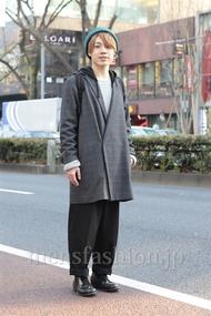 ファッションコーディネート原宿・表参道 2013年01月 斎藤 裕さん