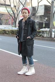 ファッションコーディネート原宿・表参道 2013年01月 佐藤貴龍さん