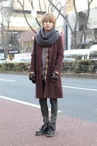 ファッションコーディネート原宿・表参道 2013年01月 古田 廉さん