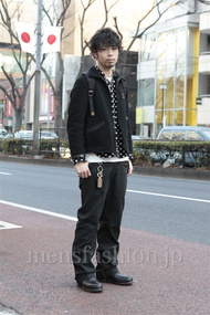 ファッションコーディネート原宿・表参道 2013年01月 小林綾太さん
