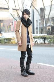ファッションコーディネート原宿・表参道 2013年01月 黒山慶司さん