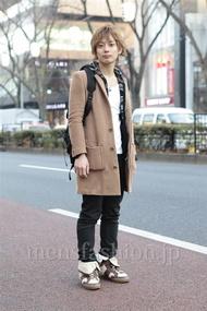 ファッションコーディネート原宿・表参道 2013年01月 新田快広さん