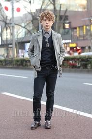ファッションコーディネート原宿・表参道 2013年01月 アンドウコウイチさん