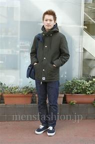 ファッションコーディネート原宿・表参道 2013年01月 ワタベショウマさん