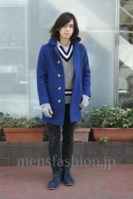ファッションコーディネート原宿・表参道 2013年01月 小西 涼さん
