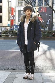 ファッションコーディネート原宿・表参道 2013年01月 我妻佑磨さん
