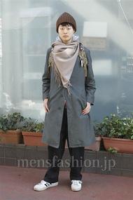ファッションコーディネート原宿・表参道 2013年01月 茄子川 建さん