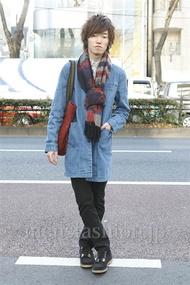 ファッションコーディネート原宿・表参道 2013年01月 ゆうさん