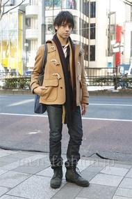 ファッションコーディネート原宿・表参道 2013年01月 音吉洋介さん