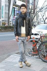 ファッションコーディネート原宿・表参道 2013年01月 滝沢宏至さん
