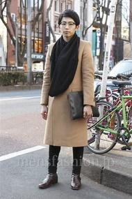 ファッションコーディネート原宿・表参道 2013年01月 大澤一嘉さん