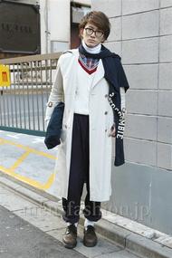 ファッションコーディネート原宿・表参道 2013年01月 小池賢斗さん