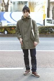 ファッションコーディネート原宿・表参道 2013年01月 佐々木和彦さん
