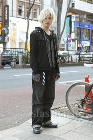 ファッションコーディネート原宿・表参道 2013年01月 北向達也さん