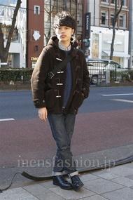 ファッションコーディネート原宿・表参道 2013年01月 青山清志さん