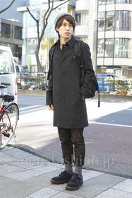 ファッションコーディネート原宿・表参道 2013年01月 菊池快瑠さん