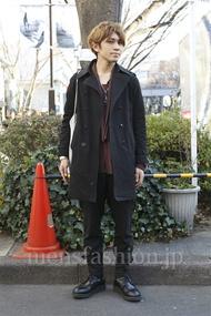 ファッションコーディネート原宿・表参道 2013年01月 小堀レオナルド竜太さん