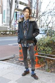 ファッションコーディネート原宿・表参道 2013年01月 ゆうすけさん