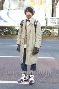 ファッションコーディネート原宿・表参道 2013年01月 kant!さん