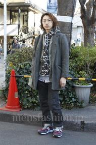 ファッションコーディネート原宿・表参道 2013年01月 SOEさん