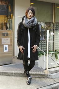 ファッションコーディネート原宿・表参道 2013年01月 山田大輔さん