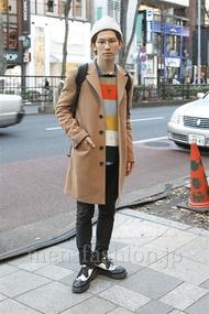 ファッションコーディネート原宿・表参道 2013年01月 山野純輝さん