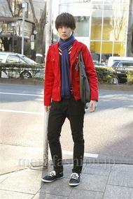 ファッションコーディネート原宿・表参道 2013年01月 藤岡秀太さん