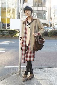 ファッションコーディネート原宿・表参道 2013年01月 高橋直斗さん