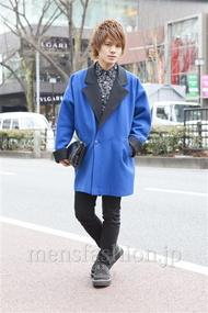 ファッションコーディネート原宿・表参道 2013年02月 川田晋吾さん