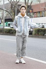 ファッションコーディネート原宿・表参道 2013年02月 伏貫 諒さん