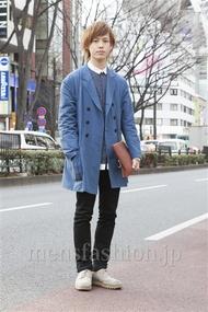 ファッションコーディネート原宿・表参道 2013年02月 伏貫 耕さん
