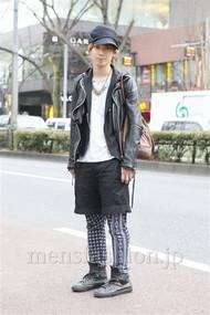ファッションコーディネート 2013年02月 新田快広さん