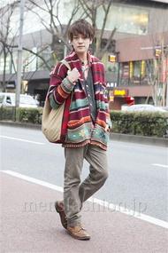 ファッションコーディネート原宿・表参道 2013年02月 松下雄一郎さん