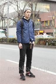 ファッションコーディネート原宿・表参道 2013年02月 中澤卓也さん