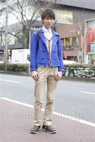 ファッションコーディネート原宿・表参道 2013年02月 矢島 聖さん
