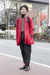 ファッションコーディネート原宿・表参道 2013年02月 山田大輔さん