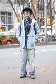ファッションコーディネート原宿・表参道 2013年02月 ミツさん