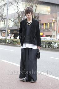 ファッションコーディネート原宿・表参道 2013年02月 原田浩一さん