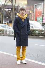 ファッションコーディネート原宿・表参道 2013年02月 内田 遼さん
