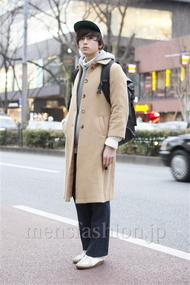 ファッションコーディネート原宿・表参道 2013年02月 加藤康貴さん
