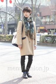 ファッションコーディネート原宿・表参道 2013年02月 小原教宏さん